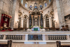 Interior of Cathedral of Saint Paul Royalty Free Stock Photo