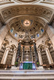 Interior of Cathedral of Saint Paul Royalty Free Stock Photos