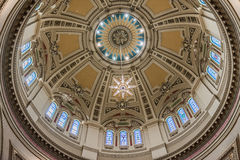 Interior of Cathedral of Saint Paul Royalty Free Stock Photography