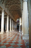 Interior of Cathedral of Saint Peter in Mantua Royalty Free Stock Images
