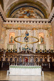 Interior of Cathedral San Cristobal in Old Havana Stock Images