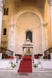 Interior of the Cathedral of San Sabino in Bari Royalty Free Stock Photography