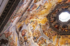 Interior of the Cathedral Santa Maria del Fiore, Florence, Italy Royalty Free Stock Photography