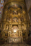 Interior of Cathedral of Santa Maria of Palma (La Seu) Royalty Free Stock Photo
