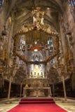 Interior of Cathedral of Santa Maria of Palma (La Seu). In Palma de Mallorca (Majorca Stock Image