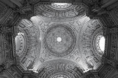 interior of Cathedral . Seville Stock Images