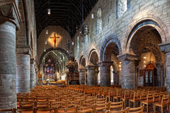 Interior of the cathedral in Stavanger Stock Photos