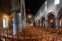 Interior of the cathedral in Stavanger Royalty Free Stock Photography