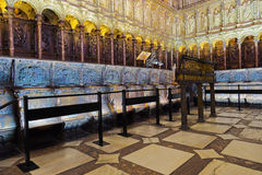 Interior of Cathedral in Toledo Spain Stock Photos