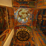 Interior, Cathedral of Transfiguration of the Saviour, Monastery Stock Photo