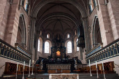 Interior of cathedral in Trier. Germany Royalty Free Stock Images
