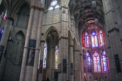 Interior of cathedral in Trier. Germany Stock Photos