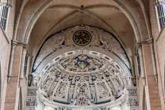 Interior of Cathedral of Trier (Trierer Dom), Germany Stock Images