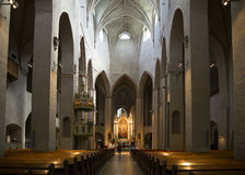 The interior of the cathedral. Turku, Finland Stock Images