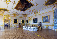 Interior of Catherine Palace Stock Image