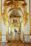 Interior of the Catherine Palace in Tsarskoye Selo, Saint Peters Royalty Free Stock Images