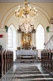 Interior catholic church in Slovakia Royalty Free Stock Images