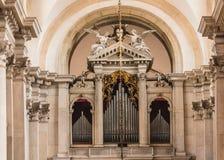 San Giorgio Maggiore with Pipe Organ Stock Images