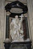 Interior of catolic churh in Rome, Italy Stock Image