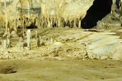 Interior of a cave Royalty Free Stock Photo