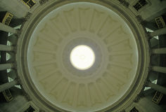 Interior ceiling of the Federal Hall, New York, NY Royalty Free Stock Images