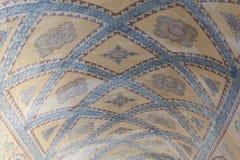 Interior ceiling of Hagia Sophia in Istanbul Stock Image