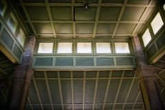 Interior Ceiling of Pavilion at Rockcliffe Park Stock Photos