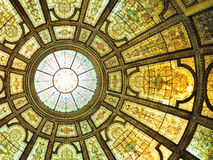 Interior Center cultural de Chicago Imagens de Stock