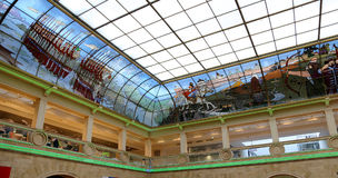 Interior Central children`s store on Lubyanka opened in April 2015 after extensive reconstruction , Moscow, Russia Royalty Free Stock Photography