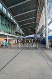 Interior central da estação de Utrecht Fotografia de Stock Royalty Free