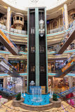 Interior Central Souq Mega Mall in Sharjah UAE royalty free stock photography