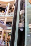 Interior Central Souq Mega Mall in Sharjah UAE Stock Photography