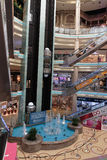 Interior Central Souq Mega Mall in Sharjah UAE Stock Image