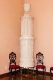 Interior. Ceramic stove. Mirabell palace. Salzburg. Austria Royalty Free Stock Photos