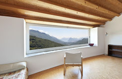 Interior chalet Stock Images