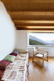 Interior chalet Stock Photos