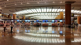 Interior of Changi Airport Singapore Royalty Free Stock Image