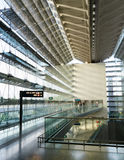 Interior of Changi International Airport Royalty Free Stock Photography