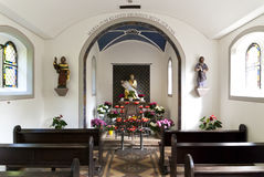 Interior of a Chapel Stock Images