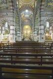 Interior Chapel at Notre Dame de la Garde, Marseilles, France Stock Photos