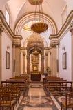Interior of the chapel of the Santa Maria Nuova cathedral stock photo