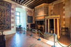 Interior Chateau de Chaumont-sur-Loire, France Royalty Free Stock Photography