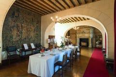 Interior Chateau de Chaumont-sur-Loire, France Royalty Free Stock Images