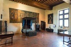 Interior Chateau de Chaumont-sur-Loire, France Stock Images