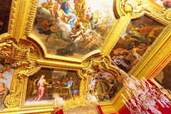 Interior Chateau of Versailles, Royalty Free Stock Photo