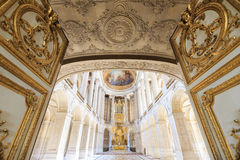 Interior Chateau of Versailles, Versailles, France Stock Photo