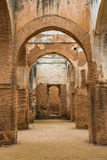 The interior of Chellah which is the world heritage in Rabat Royalty Free Stock Image