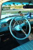 Interior of Chevrolet '55 Bel Air Royalty Free Stock Photo