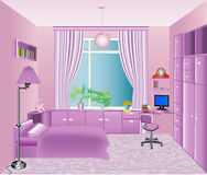 of the interior children's room Stock Photo