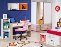 Children`s room interior stock photography
